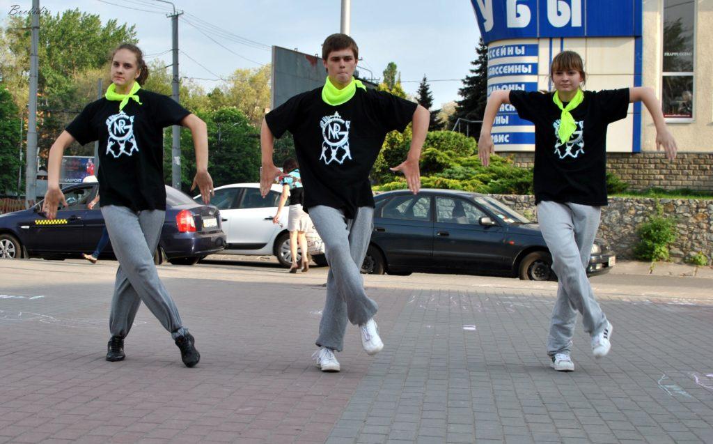 Танцевальный коллектив NRG GREW Днепропетровск